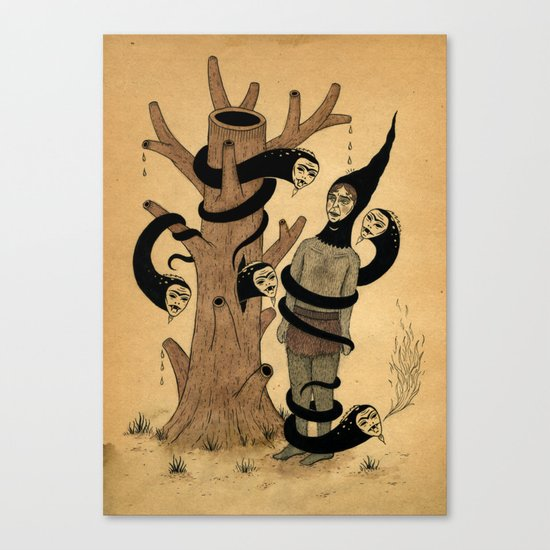 A Very Bad Feeling Canvas Print
