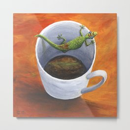 Coffee With A friend Metal Print