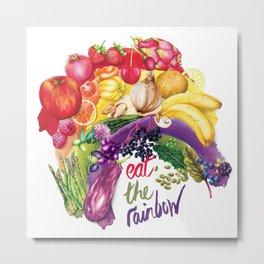 Eat The Rainbow Metal Print