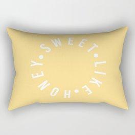 sweet like honey Rectangular Pillow