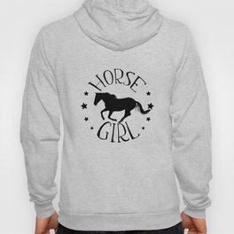 Horse Girl Cute Gift for Horse Riders and Girls Hoody