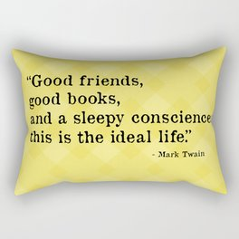 The Ideal Life Rectangular Pillow