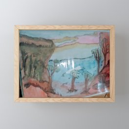 different levels Framed Mini Art Print
