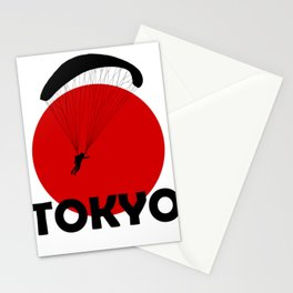 Tokyo and Paragliding Stationery Cards