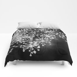 Dill In Black and White Comforters