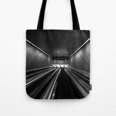 Subway Stairs Tote Bag