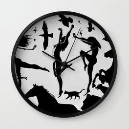 Fylgjur Wall Clock