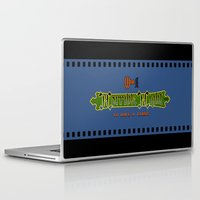 castlevania Laptop & iPad Skins featuring Castlevania II - What a Horrible Night to Have a Curse by Aaron Campbell