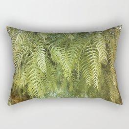Green Tree. Vegetal Photography Rectangular Pillow