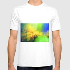 Daffodils Mens Fitted Tee SMALL White