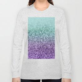 Mermaid Girls Glitter #9 #shiny #decor #art #society6 Long Sleeve T-shirt