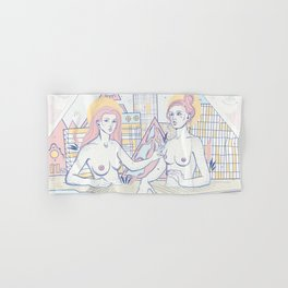 Girls in the City Hand & Bath Towel