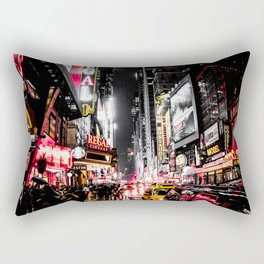 New York City Night II Rectangular Pillow