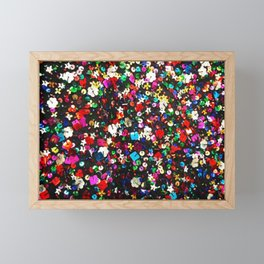 Sea of Sequins Framed Mini Art Print