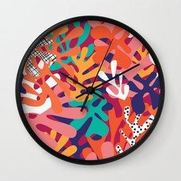 Matisse Pattern 006 Wall Clock