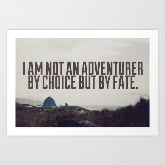 Adventurer by Fate Art Print
