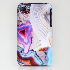 Agate, a vivid Metamorphic rock on Fire iPhone (3g, 3gs) Slim Case