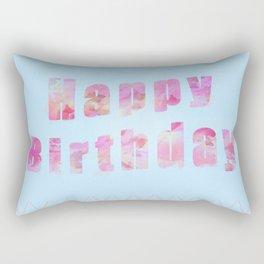 Happy Birthday! Rectangular Pillow