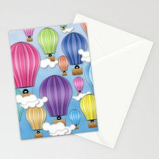 UP! UP! AND AWAAAAAAYYY!  Stationery Cards