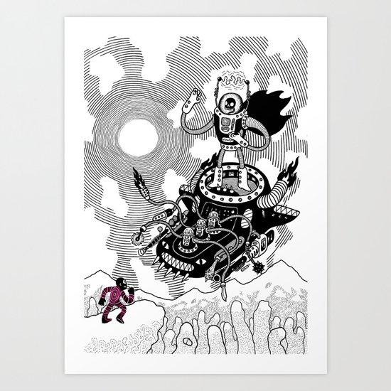 So we meet again! Art Print
