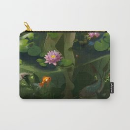 Naiad with Pond Dress Carry-All Pouch