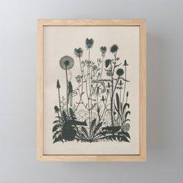 Nouveau Nature Framed Mini Art Print