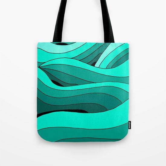 Stars and the Sea Tote Bag