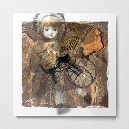 Baby Buggy Metal Print