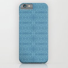 Blue Leaves Slim Case iPhone 6s