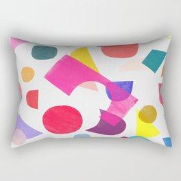colored toys 2 v Rectangular Pillow