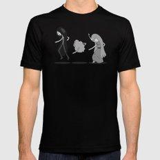 Adventure Time: Marceline, Princess Bubblegum, & LSP: Single Ladies of Ooo Black 2X-LARGE Mens Fitted Tee
