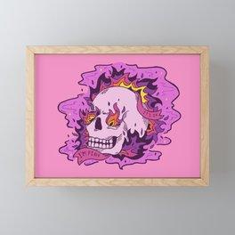 It's Ok I'm Fine Framed Mini Art Print