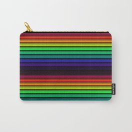 Spectrum - Rainbow Stripes - Colorful - Manafold Art Carry-All Pouch