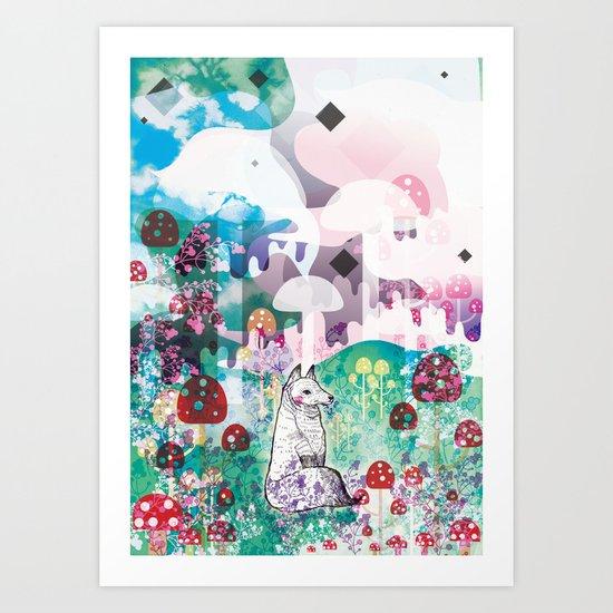 Wonder World Art Print