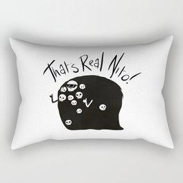 this real nito Rectangular Pillow
