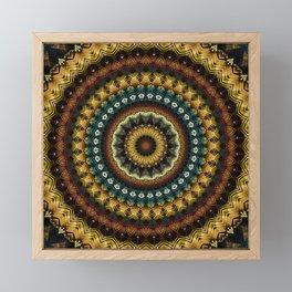 Mandala 217 Framed Mini Art Print