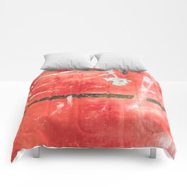 Etched Scratchings of a Mad Red Monk Comforters
