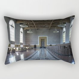 Los Angeles Union Station Interior Rectangular Pillow