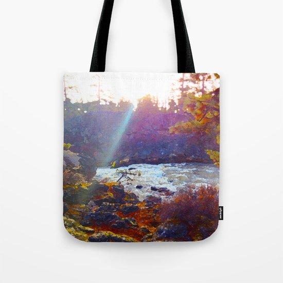 Benham Falls Tote Bag