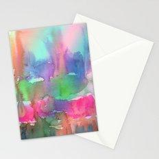 Rainbow Waterfall Stationery Cards