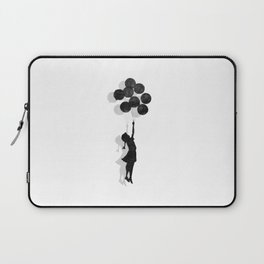 Banksy Fly Away  Laptop Sleeve