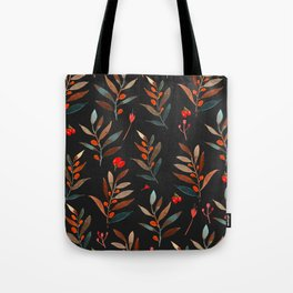 dark leaves Tote Bag