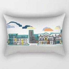 City Streets Rectangular Pillow