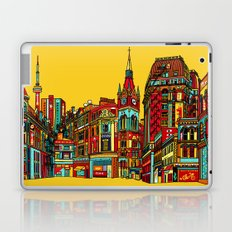 Sound of the city Laptop & iPad Skin