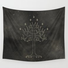 Lord of the Rings: Tree of Gondor Wall Tapestry