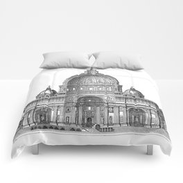 St. Peter Basilica - Rome, Italy Comforters