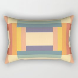 Soft Color Pattern Rectangular Pillow