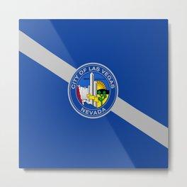Flag of las vegas Metal Print