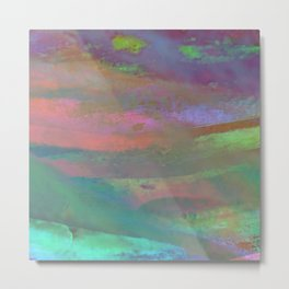 Inside the Rainbow 10 / Unexpected colors Metal Print
