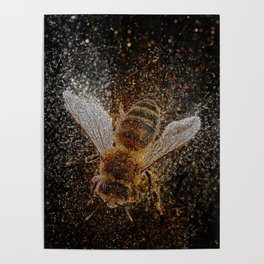 Bees Are Magic Poster